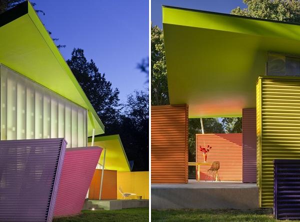 Shelter Island House: игры со светом и цветом
