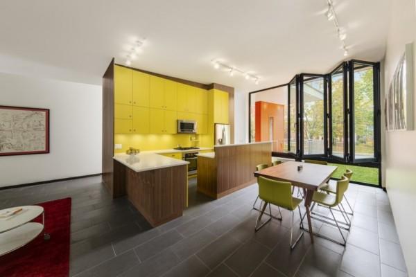 Stacey-Turley Residence: креативный узкий дом для молодой семьи