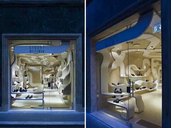 Бутик Stuart Weitzman Store в Риме
