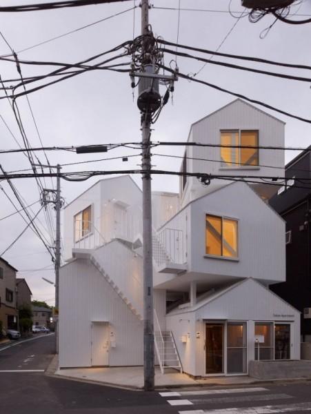 Жилой дом Tokyo Apartment от Sou Fujimoto Architects