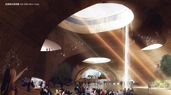 роект Taichung City Cultural Center: природная интеграция в городскую инфраструктуру