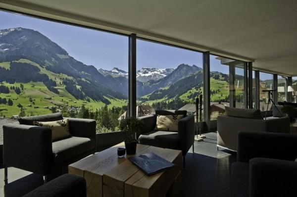 Cambrian Hotel – эклектичный отель в Швейцарских Альпах