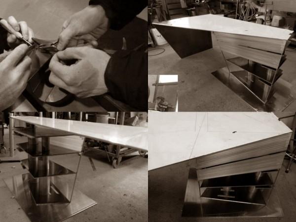 Torque desk – креативный стол от I M Lab