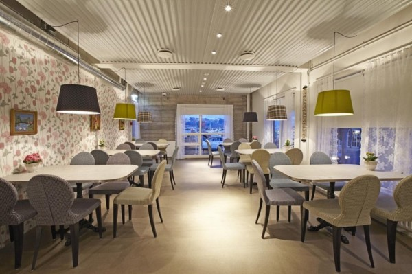 Icelandair Hotel Reykjavik Marina – «красочный» приморский отель в Исландии