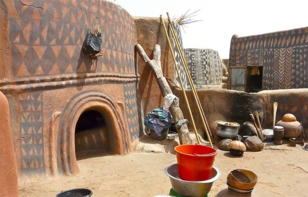 Традиционная земляная архитектура Буркина-Фасо