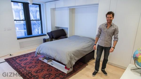 Life Edited - маленькая квартира-трансформер в Нью-Йорке