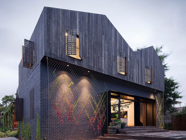 Twin Peaks House - реконструкция старинного дома от Джексона Клементса Барроуза (Jackson Clements Burrows)