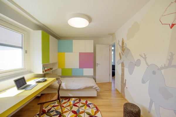 Nussberg Penthouse - креативный пентхаус в Вене от Beef Architekti