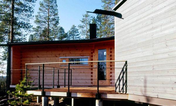 Villa Valtanen – современные лесные хижины в Лапландии