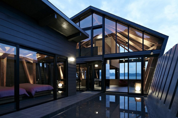 Жилой дом Villa SSK от Takeshi Hirobe Architects