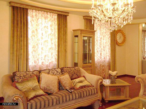 Текстильный дизайн — часть классического стиля. © Артис