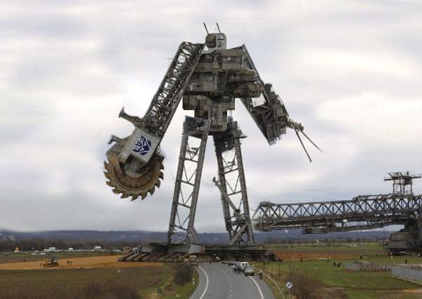 Экскаватор Bagger 288 - самая большая в мире машина