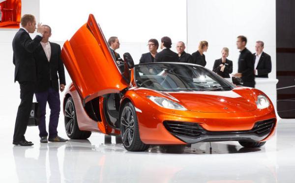 Новая модель от McLaren