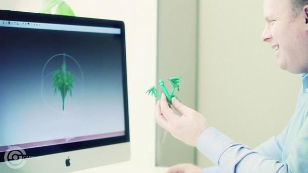 Результат работы 3D сканера компании CADScan