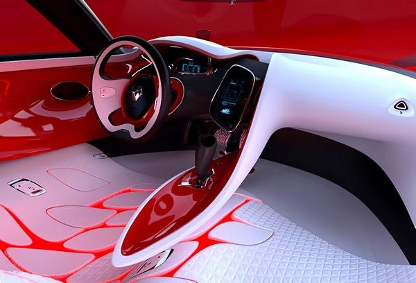 В автомобилях будущего на приборных панелях не будет размещаться ничего лишнего, а информационные экраны будут только уменьшаться.