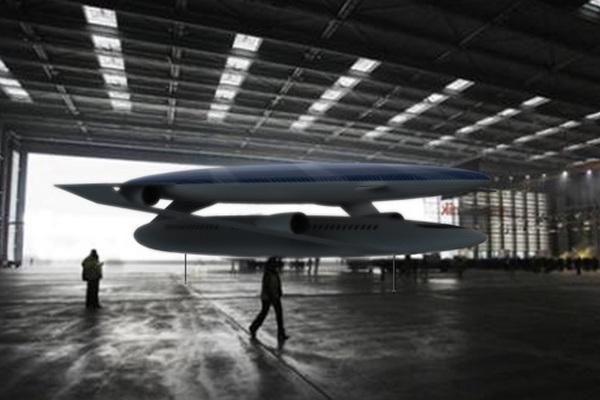 Будущее авиатранспорта экологичный самолет-дирижабль