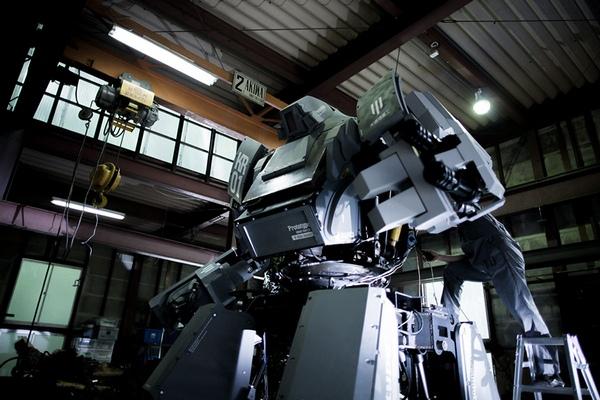 Kuratas Battle Mech: гигантский трансформер из Японии