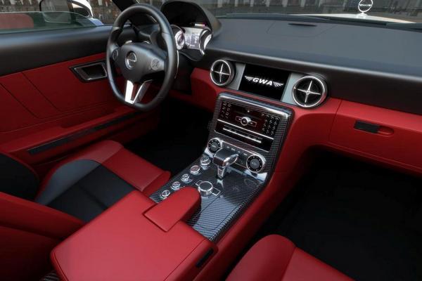 Интерьер Mercedes-Benz GWA 300 SLC