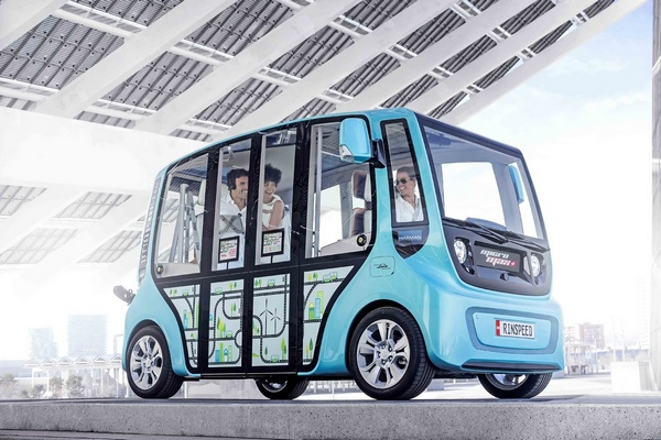 Rinspeed MicroMax: будущее общественного транспорта