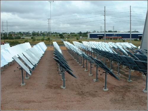 Солнечная электростанция в Клонкарри, Австралия.