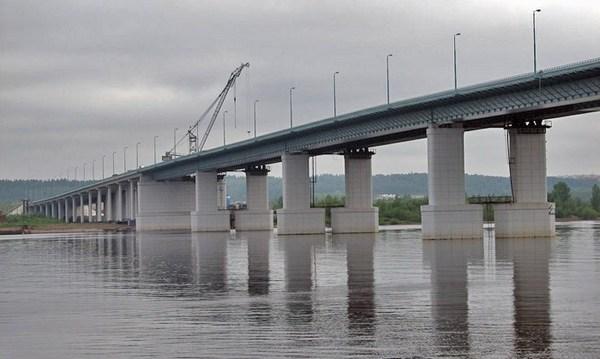 Самый длинный мост в России.