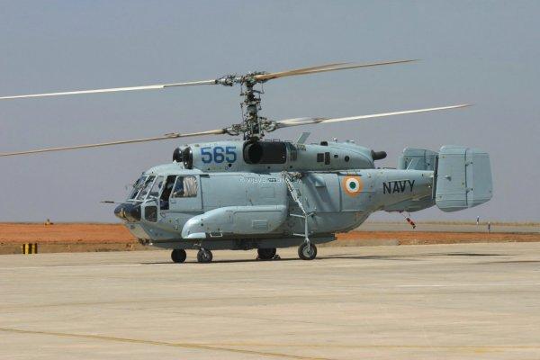 Ка-31 - вертолёт радиолокационного дозора.