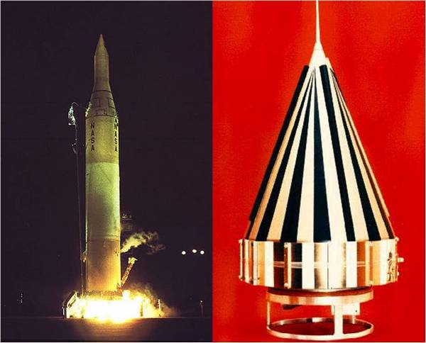 Космический аппарат Пионер-4 (США, март 1959 г.).