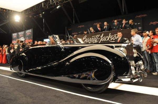 Bentley Mark VI на аукционе Barrett-Jackson 2012. Фото: blog.cochesalaventa.com