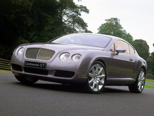 Спортивное купе Bentley Continental GT. Фото: 3.bp.blogspot.com