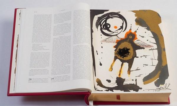 Библия с иллюстрациями Сальвадора Дали.