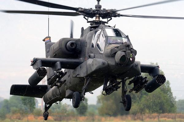 Вертолёт Apache - герой бури в пустыне.