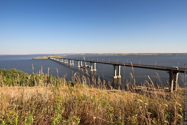 Мост через Каму.