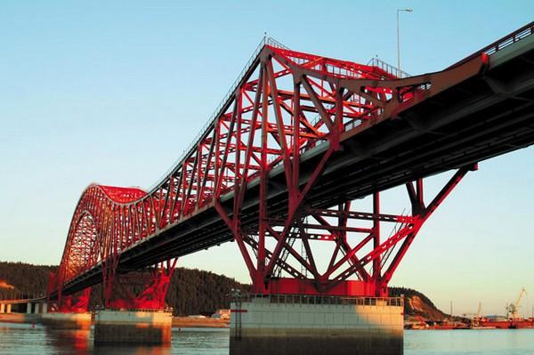 Мост через Иртыш.