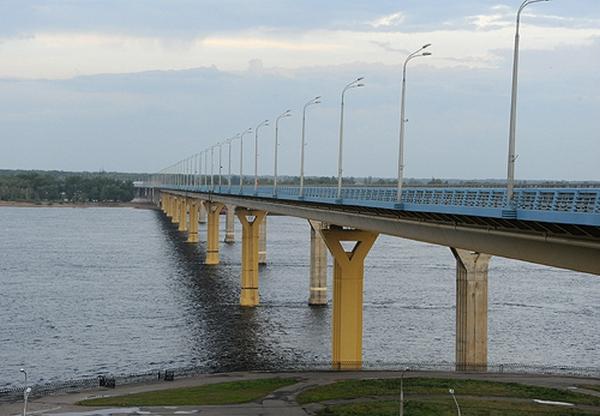 Танцующий мост. Волгоград.