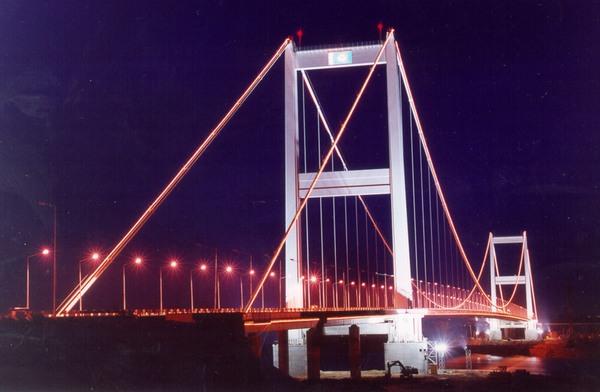 Мост в Семее. Казахстан