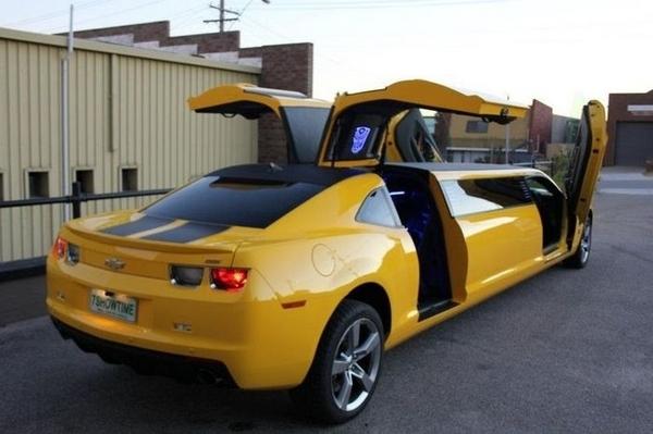 Лимузин Chevrolet Camaro Bumblebee.