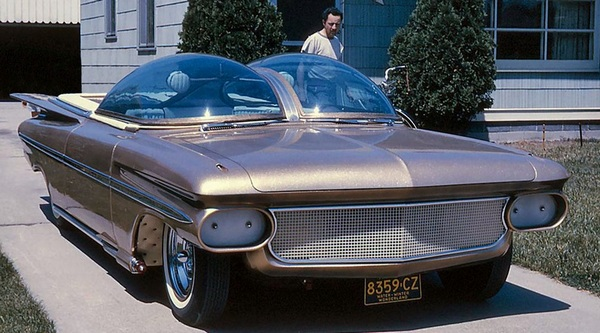 Футуристический Chevrolet Ultimus.