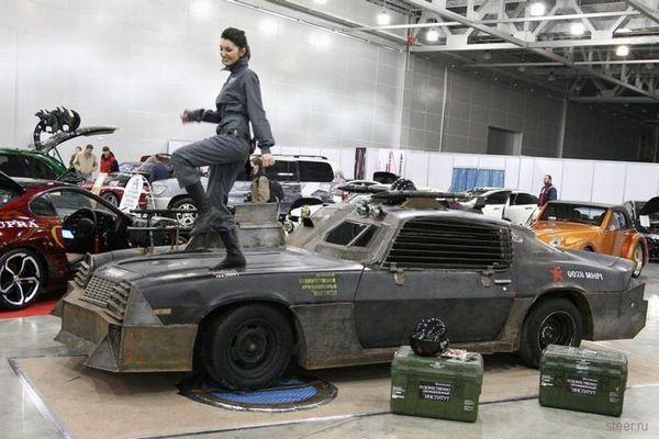 Chevrolet Camaro в миллитари-тюнинге.