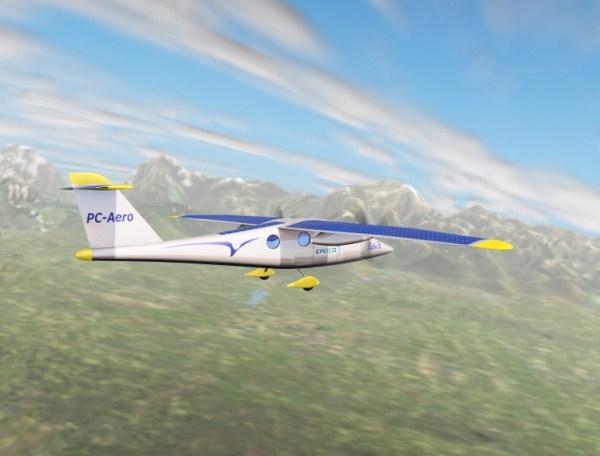 Elektro E6 - солнечный самолёт
