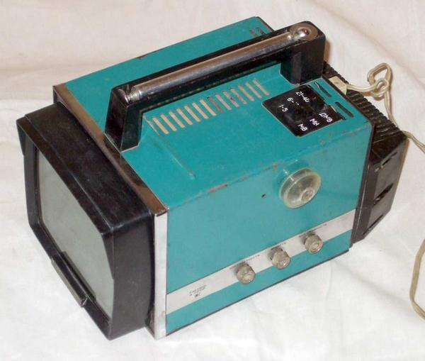 Малогабаритный телевизор Электроника ВЛ-100