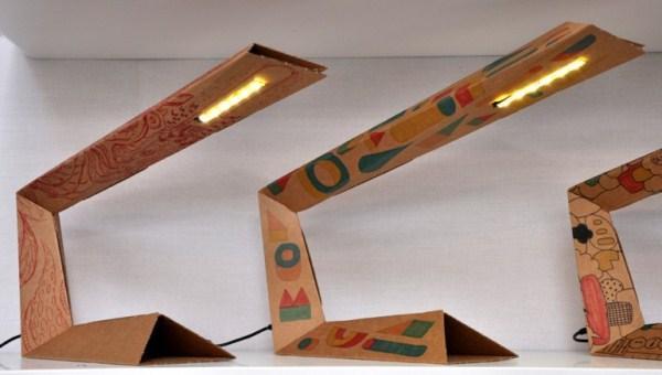 Воспоминания об оригами: необычный гаджет из картона
