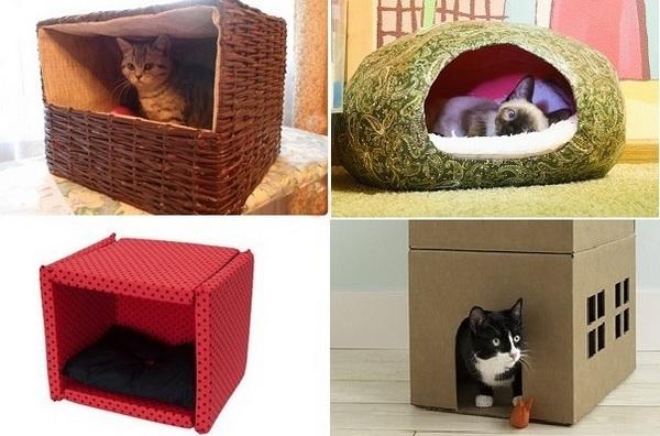Котов своими руками идеи