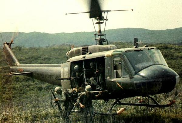 Хьюи во Вьетнаме.