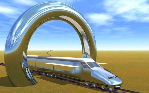 Elon Musk's Hyperloop - сверхзвуковой электропоезд нового типа