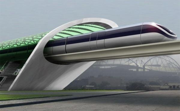 Elon Musk's Hyperloop: преодолевая пространство