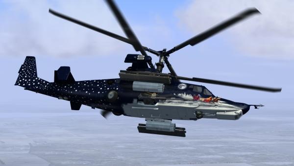 Ка-50 - одна из самых эффективных боевых машин.