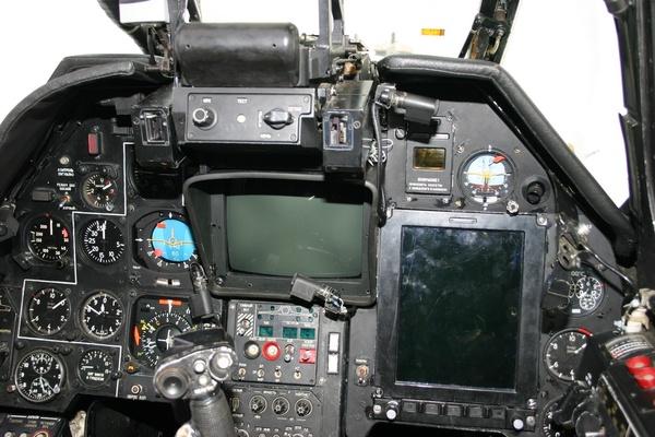 Кабина вертолёта Ка-50