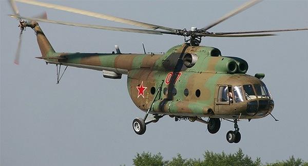 Ми-8 - советский вертолёт, ставший сенсацией.