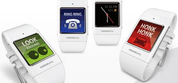 Умные часы Moneual Smart Care.