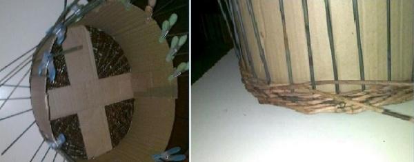 Шаг 2: плетение стенок.